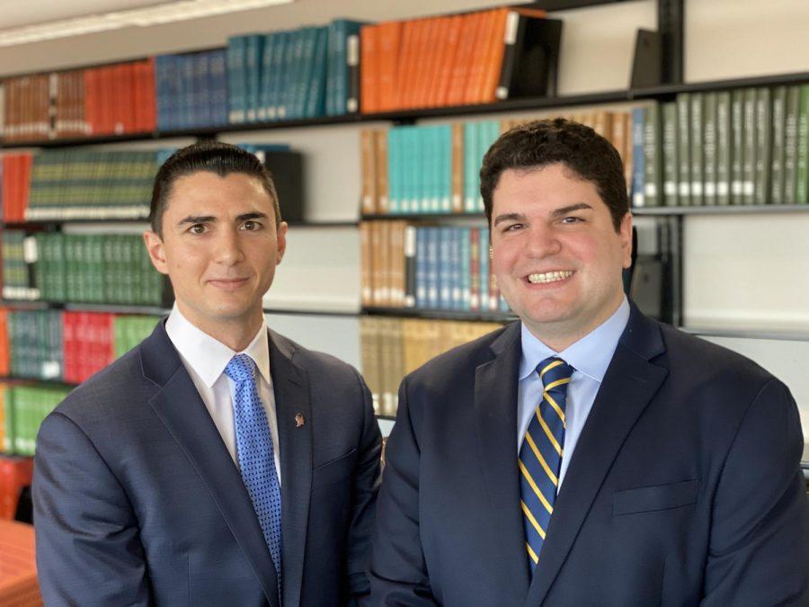 L-R: Daniel Vitagliano and Anthony Nania