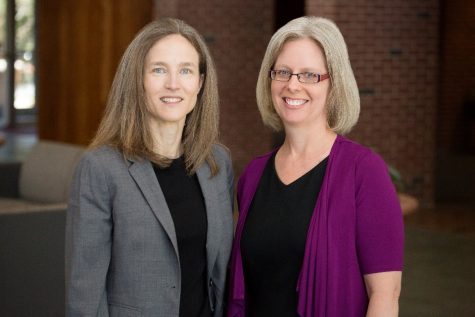 L-R: Verity Winship and Jennifer Robbennolt